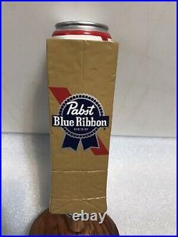 PBR PABST BLUE RIBBON ART SERIES PAPER BAG beer tap handle. WISCONSIN