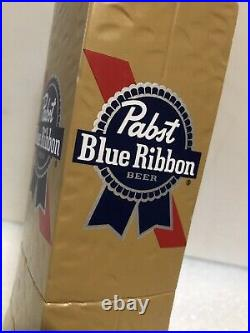 PBR PABST BLUE RIBBON ART SERIES PAPER BAG draft keg beer tap handle. WISCONSIN