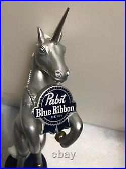 PBR PABST BLUE RIBBON ART SERIES UNICORN beer tap handle. MILWAUKEE, WISCONSIN