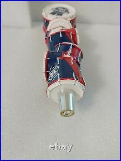 PBR Pabst Blue Ribbon Art Series Drum Set Rare NIB 10 Draft Beer Tap Handle Bar
