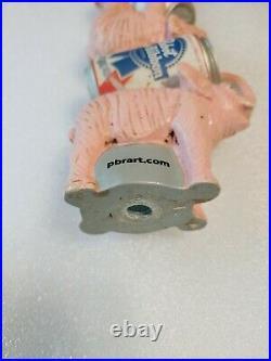 PBR Pink Circus Elephant Rare Pabst Blue Ribbon Draft Beer Keg Bar Tap Handle