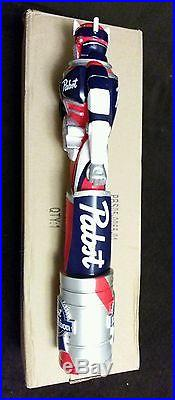 Pabst Blue Ribbon Art Beer Tap Handle NewithIn Box! PBR Robot