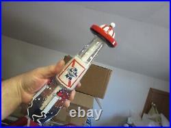 Pabst Blue Ribbon Beer Pbr Art Tap Handle Figural Spaceship Ufo New Bar Keg Pull