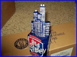 Pabst Old Style Beer Figural Tap Handle Chicago Skyline NIB Mint 11 Heilemans