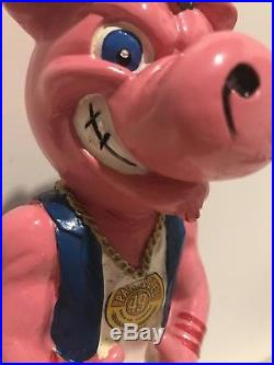 Parallel 49 Brewing Filthy Dirty Pig Figurine Beer Bar Tap Handle