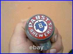 Pbr Pabst Blue Ribbon Ball Knob, Beer Tap Handle