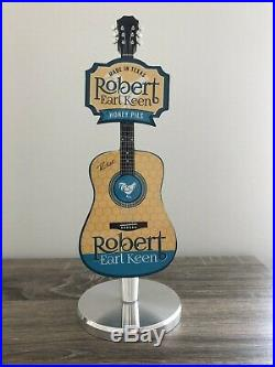 Pedernales Robert Earl Keen Honey Pils Guitar REK Rare Beer Tap Handle