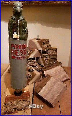 Pigeon Head Brewery Beer Tap Handle