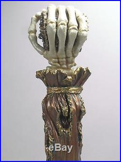 Pirates Treasure Chest Skull Hand, Bar Beer Tap Handle Direct From Ron Lee