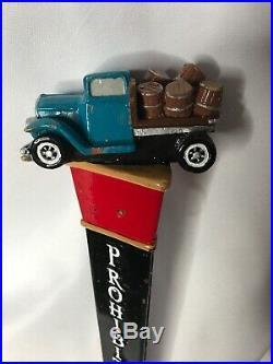 Prohibition Brewing CO. Vista, CA Vintage Car Truck Barrel RARE Tap Handle