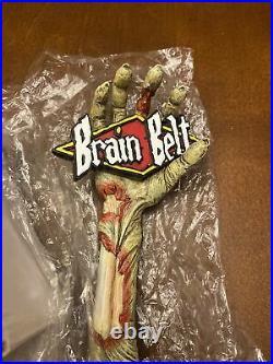 RARE BRAIN BELT ZOMBIE HAND TAP HANDLE by Grain Belt BRAND NEW IN BOX