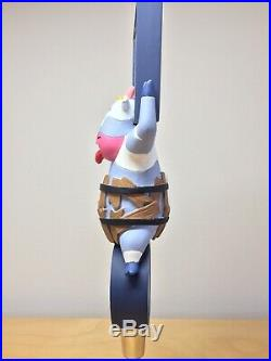 RARE Brasserie De Sutter Crazy IPA Cow French Brew Beer Spotted Cow Tap Handle