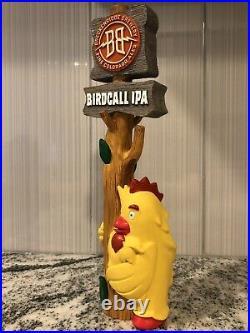 RARE Breckinridge Brewery Birdcall IPA Yellow BigBird Rare Beer Tap Handle