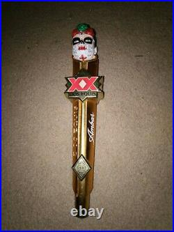 RARE. Dos Equis XX Amber Lager Cerveza Beer Tap Handle 14 tall