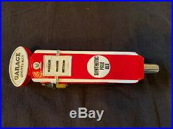 RARE! Garage Sports Bar Synthetic Pale Ale beer tap handle NEW & COOL