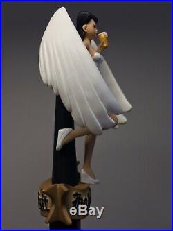 RARE Holy Craft Angel New School Phuk Angel Princess Pinup Brew Beer Tap Handle