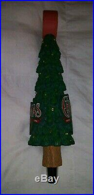 -RARE- Light Up Breckenridge Brewery Christmas Tree Ale Beer Tap Handle
