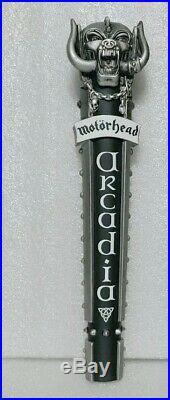 RARE Motorhead Arcadia Road Crew USA 12 Draft Beer Tap Handle BREWERY