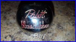 RARE PORCELAIN PABST BLUE RIBBON BEER BALL KNOB TAP HANDLE Robbins vintage
