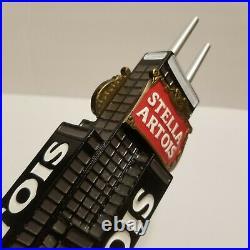 RARE STELLA ARTOIS BEER BAR TAP HANDLE MAN CAVE chicago Sears willis tower