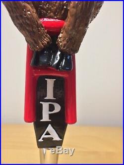 RARE Turonis Brewery Blue Eyed Moose IPA Evil Bad Moose Beer Tap Handle