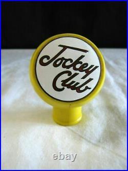 Rare 1930's Jockey Club Lager Beer Ball Tap Handle Knob Hemrich Brewing Seattle