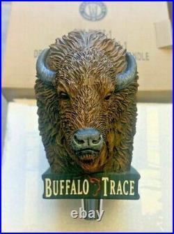 Rare Buffalo Trace Buffalo Tap Handle New in Box empty