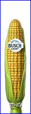 Rare Busch Light Corn Tap Handle BUSCHHHHH Limited Edition Anheuser Busch Latte