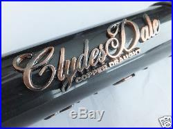 Rare CLYDESDALE COPPER DRAUGHT BEER TAP KNOB/HANDLE Anheuser-Busch/Budweiser