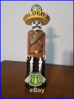 Rare California 99 Golden Ale Tioga Sequoia Bandolero 8.5 Beer Keg Tap Handle
