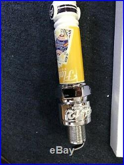 Rare Flat 12 Bierwerks Spark Plug Blonde Ale Queen Of Hearts Beer Tap Handle Bar