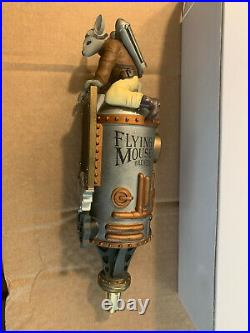 Rare Flying Mouse Tap Handle NIB Closed Brewery