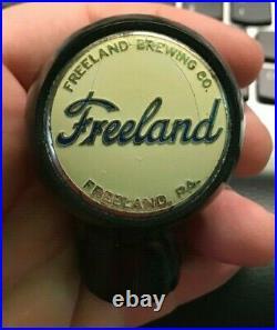 Rare Freeland Beer Brewing Co Ball Tap Knob Handle Freeland Pa