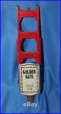 Rare Golden Pacific Brewing Company Golden Gate Pale Ale Tap Handle