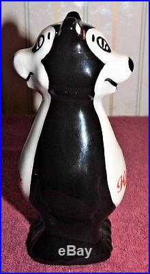 Rare! HAMM'S BEER Back To Back SNUB NOSED BEAR Ceramic TAP HANDLE (EX+) The Best