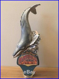 Rare Humpback Premium Ale Beer Tap Handle Humpback whale
