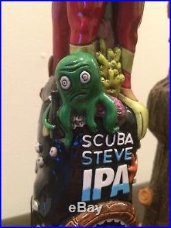 Rare NIB Scuba Steve Tap Handle