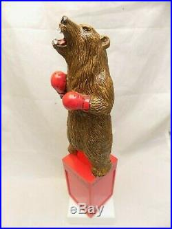 Rare Never Used BRAWLING BEAR Beer Tap Handle 10