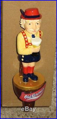 Rare New In Box-old German Beer Herman Figural Tap Handle-sign-lager-old Man-ale