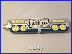 Rare Sunshine State Florida Large Car Tailgate Bumper 12.5 Beer Keg Tap Handle