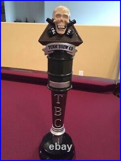 Rare Toxic Brew Co. Beer Tap Handle