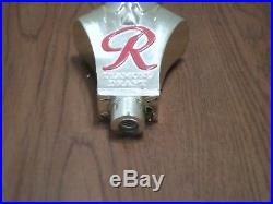 Rare Vintage Rainier Diamond Draft Man 5.5 Beer Keg Tap Handle Ball Knob