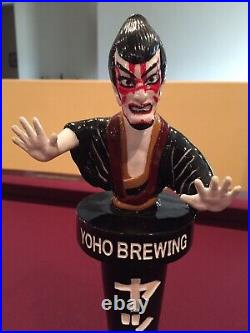 Rare Yoho Brewing Beer Tap Handle