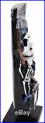 Reaper Ale Grim Reaper 3D Figural Beer Tap Handle New Old Stock