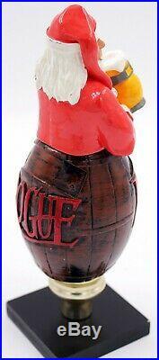Rogue Santa Claus 3D Figural Beer Tap Handle