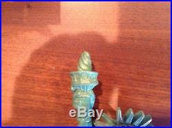 Rogue Statue of Liberty tap handle, Mega Rare! Mint
