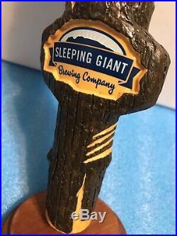 SLEEPING GIANT SKULL ROCK beer tap handle. CANADA