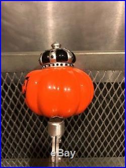 SOUTHERN TIER BREWING NY PUMKING & WARLOCK Fig MAD Pumpkin Beer Tap Handle
