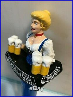 ST. PAULI GIRL beer tap handle. Bremen, Germany
