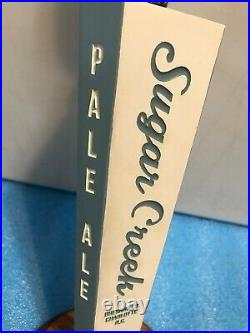 SUGAR CREEK PALE ALE beer tap handle. NORTH CAROLINA